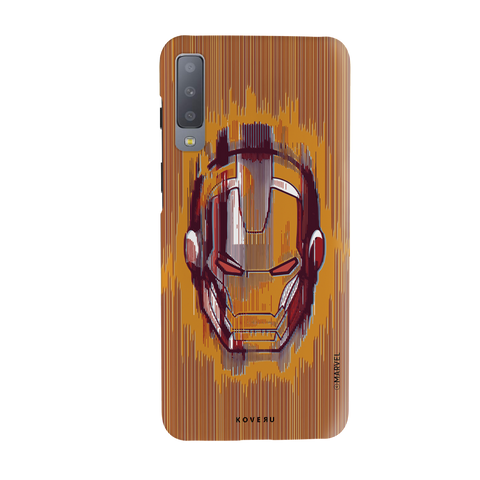 The shades of Iron Man Cover Case for Samsung Galaxy A7 2018