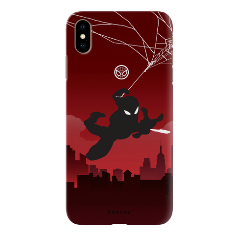 Spider Man Cover Case for iPhone XS Max