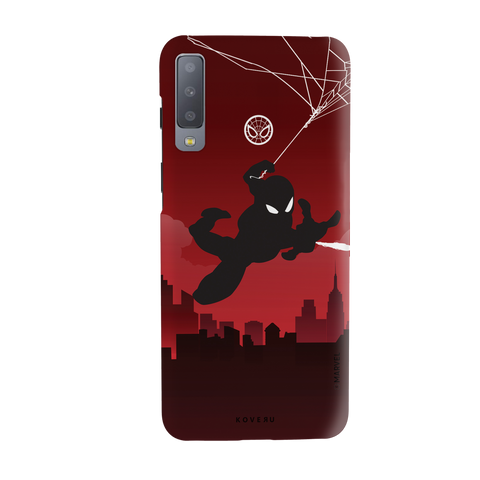 Spider Man Cover Case for Samsung Galaxy A7 2018