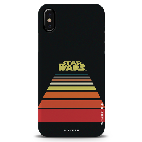 Star Wars: The Retro Scroll Cover Case for iPhone XS