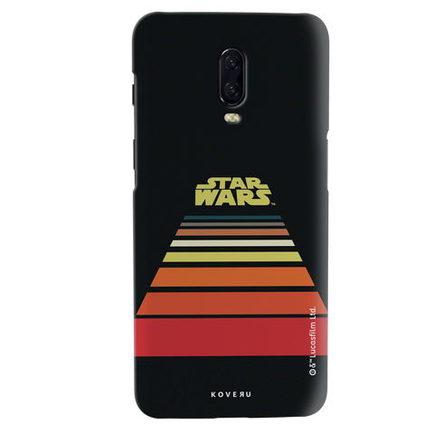Star Wars: The Retro Scroll Cover Case for OnePlus 6T