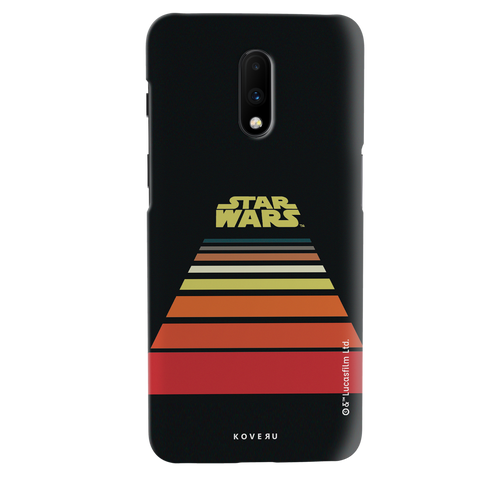 Star Wars: The Retro Scroll Cover Case for OnePlus 7