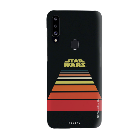 Star Wars: The Retro Scroll Cover Case for Samsung Galaxy A20S