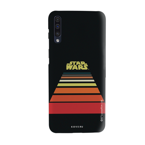 Star Wars: The Retro Scroll Cover Case for Samsung Galaxy A50