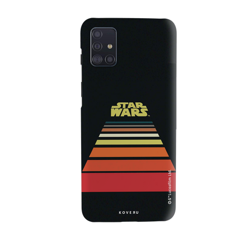 Star Wars: The Retro Scroll Cover Case for Samsung Galaxy A51