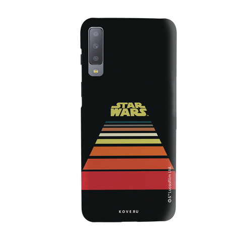 Star Wars: The Retro Scroll Cover Case for Samsung Galaxy A7 2018