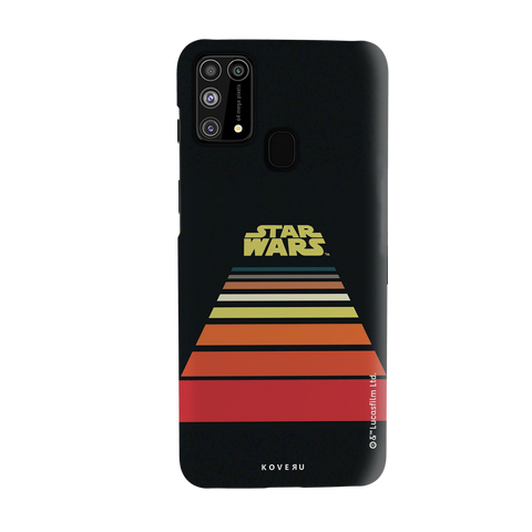 Star Wars: The Retro Scroll Cover Case for Samsung Galaxy M31