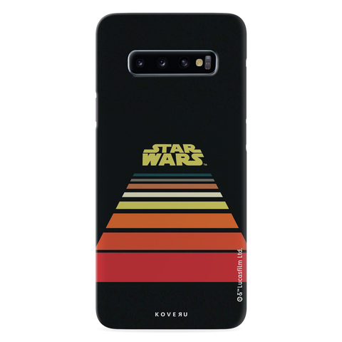 Star Wars: The Retro Scroll Cover Case for Samsung Galaxy S10