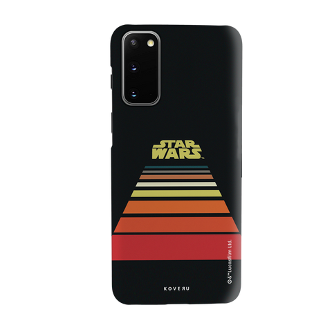 Star Wars: The Retro Scroll Cover Case for Samsung Galaxy S20