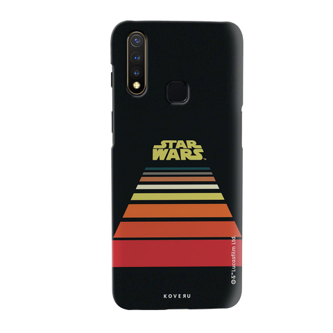 Star Wars: The Retro Scroll Cover Case for Vivo U20