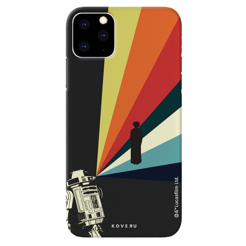 Star Wars: The Retro Message of Hope Cover Case for iPhone 11 Pro Max