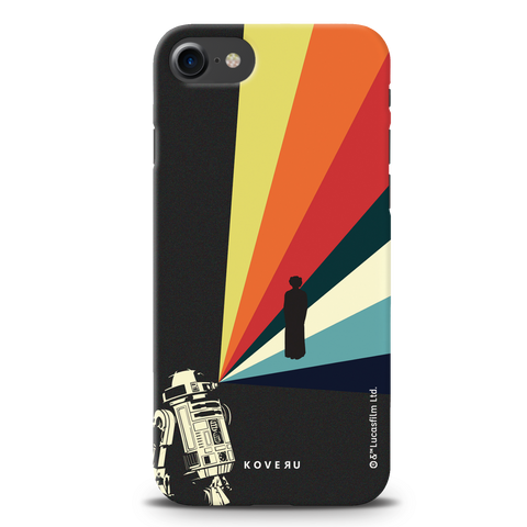 Star Wars: The Retro Message of Hope Cover Case for iPhone 7/8