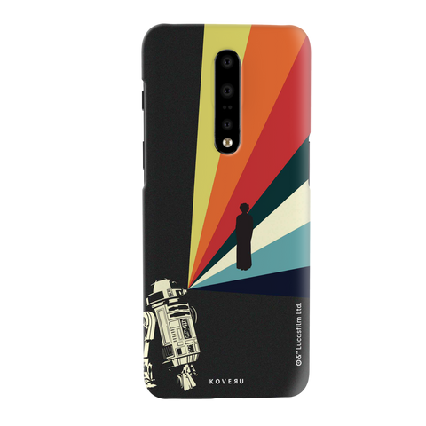 Star Wars: The Retro Message of Hope Cover Case for OnePlus 7 Pro