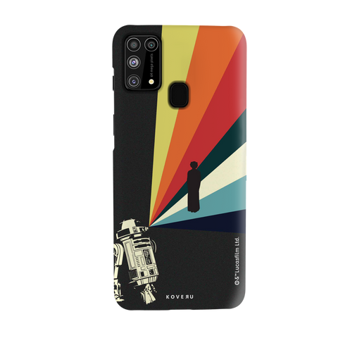 Star Wars: The Retro Message of Hope Cover Case for Samsung Galaxy M31