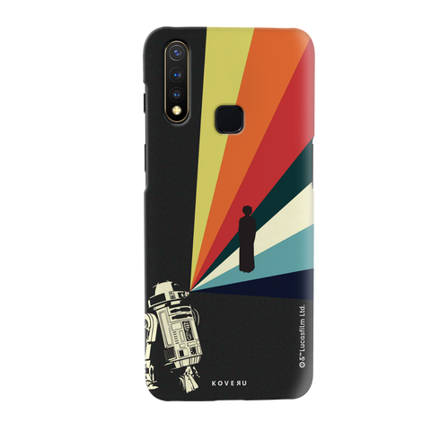 Star Wars: The Retro Message of Hope Cover Case for Vivo U20