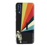Star Wars: The Retro Message of Hope Cover Case for Vivo Z1X