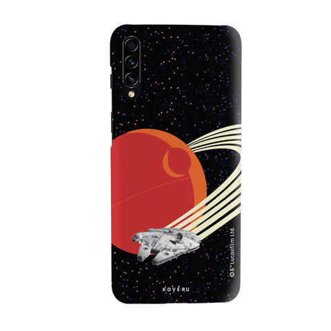 Star Wars: The Retro Death Star Cover Case for Samsung Galaxy A70S