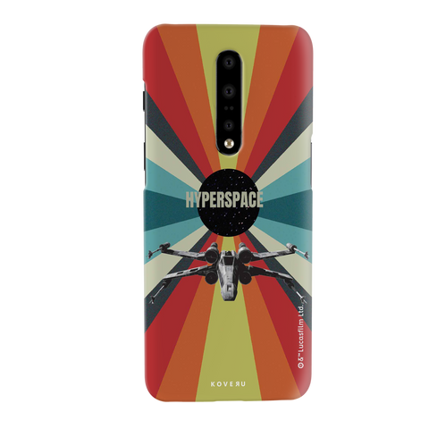 Star Wars: The Retro Hyperspace Cover Case for OnePlus 7 Pro