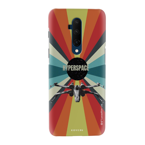Star Wars: The Retro Hyperspace Cover Case for OnePlus 7T Pro