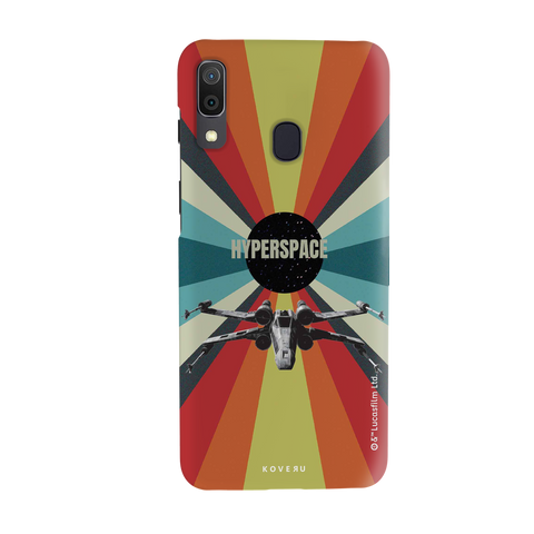 Star Wars: The Retro Hyperspace Cover Case for Samsung Galaxy A30
