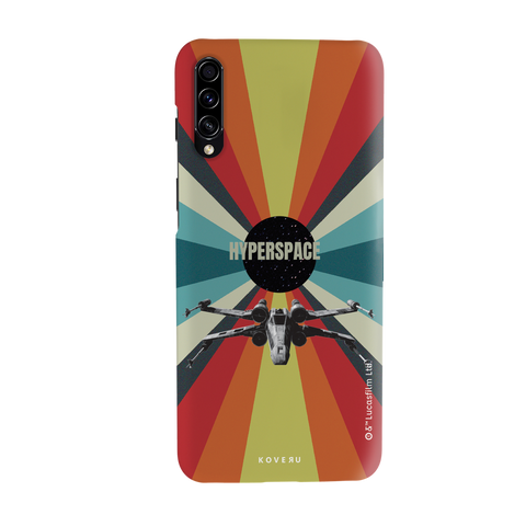 Star Wars: The Retro Hyperspace Cover Case for Samsung Galaxy A50S