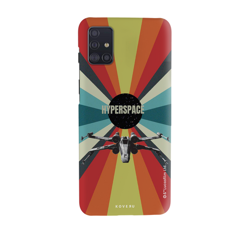 Star Wars: The Retro Hyperspace Cover Case for Samsung Galaxy A51