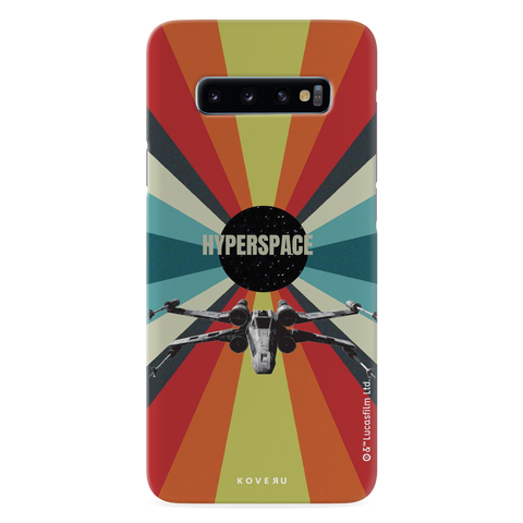 Star Wars: The Retro Hyperspace Cover Case for Samsung Galaxy S10