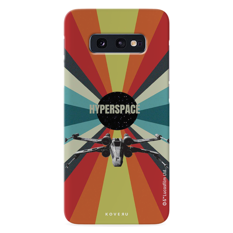 Star Wars: The Retro Hyperspace Cover Case for Samsung Galaxy S10E