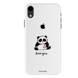 Love For Panda Cover Case For iPhone XR