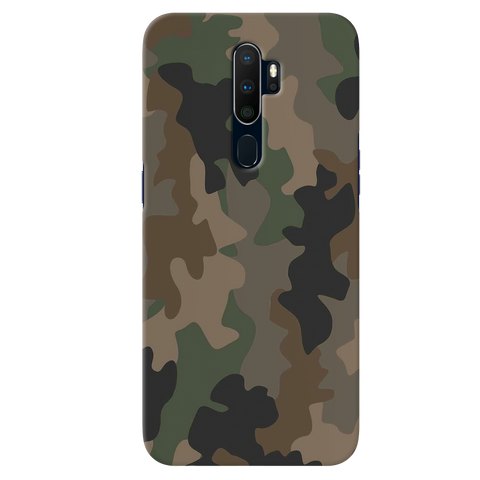 Amry Abstract Camouflage Cover Case for Oppo A9 2020