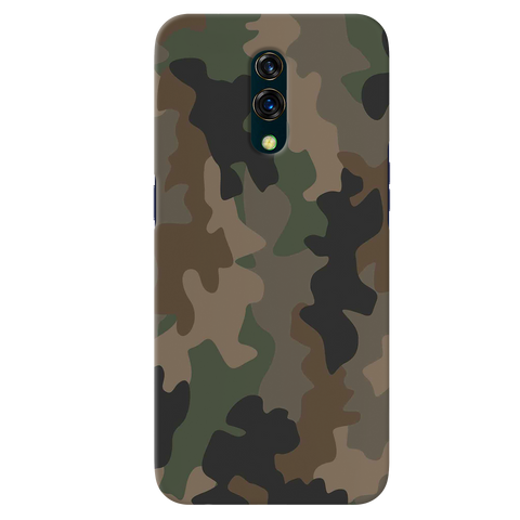 Amry Abstract Camouflage Cover Case for Oppo K3