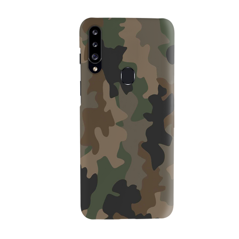 Amry Abstract Camouflage Cover Case for Samsung Galaxy A20S