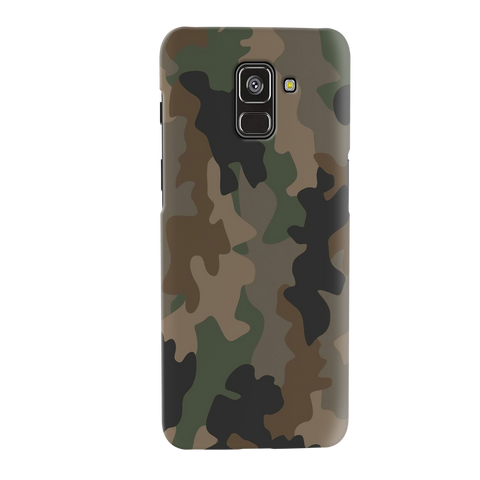 Amry Abstract Camouflage Cover Case for Galaxy A8 Plus