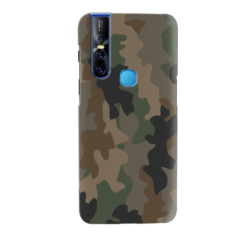 Amry Abstract Camouflage Cover Case for Vivo V15