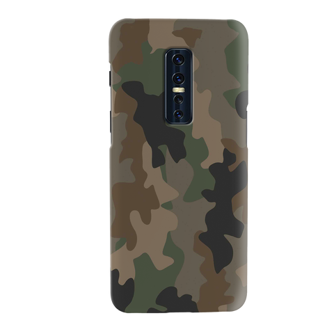 Amry Abstract Camouflage Cover Case for Vivo V17 Pro