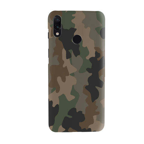Army Abstract Camo Cover Case for Redmi Note 7