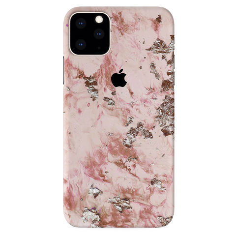 Pink Marble Cover Case for iPhone 11 Pro