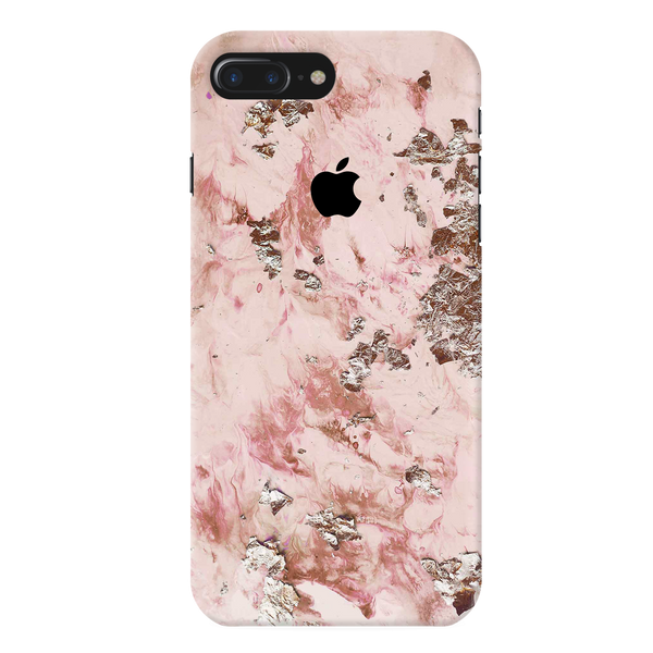 Pink Marble Cover Case For iPhone 7/8 Plus