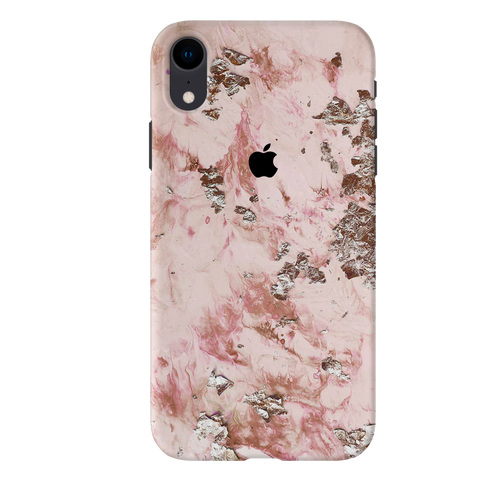 Pink Marble Cover Case For iPhone XR
