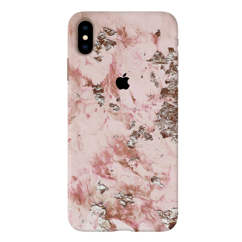 Pink Marble Cover Case For iPhone XS Max