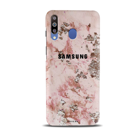 Pink Marble Cover Case for Samsung Galaxy M30