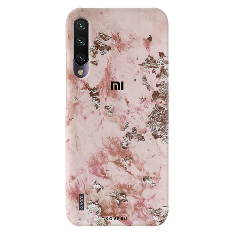 Pink Marble Cover Case for Redmi A3