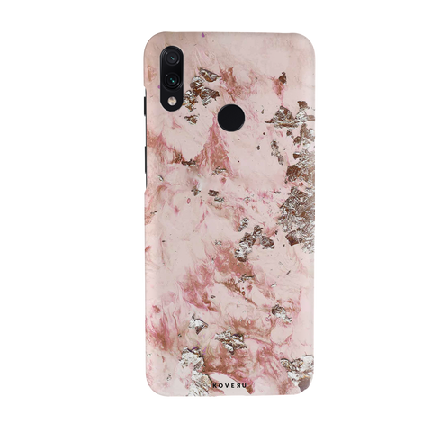 Pink Marble Cover Case for Redmi Note 7