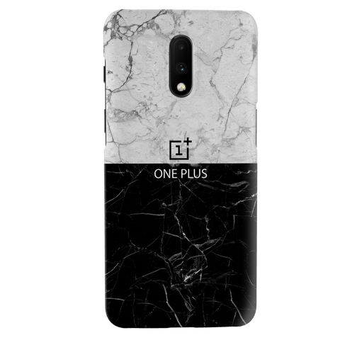Grey Marble Cover Case for OnePlus 7