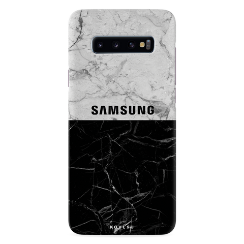 Grey Marble Cover Case for Samsung Galaxy S10 Plus