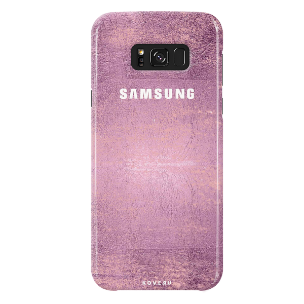 Mauve Marble Texture Cover Case For Samsung Galaxy S8 Plus