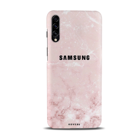 Baby Pink Marble Cover Case for Samsung Galaxy A30S