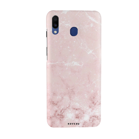 Baby Pink Marble Cover Case for Samsung Galaxy M20