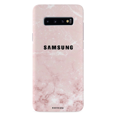 Baby Pink Marble Cover Case for Samsung Galaxy S10