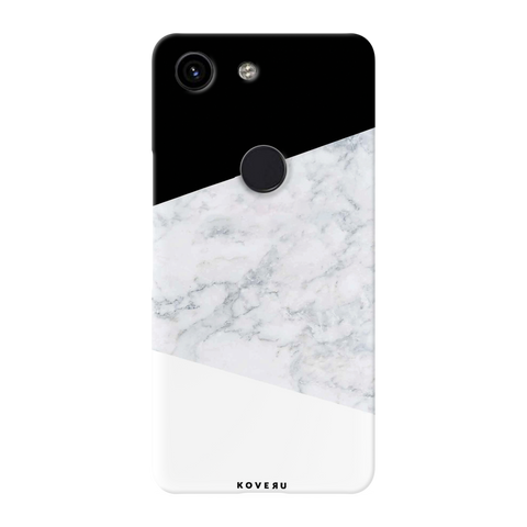 White Marble Cover Case for Cover Case for Google Pixel 3A